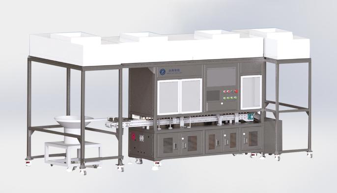 全自动聚碳酸脂输液塞检测机