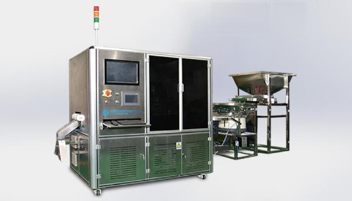 全自动高速铝塑盖视觉检测机